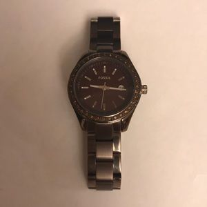 Fossil Watch with sparkles around face